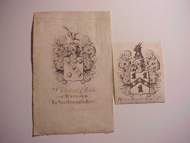 Two 18th Century English Bookplates