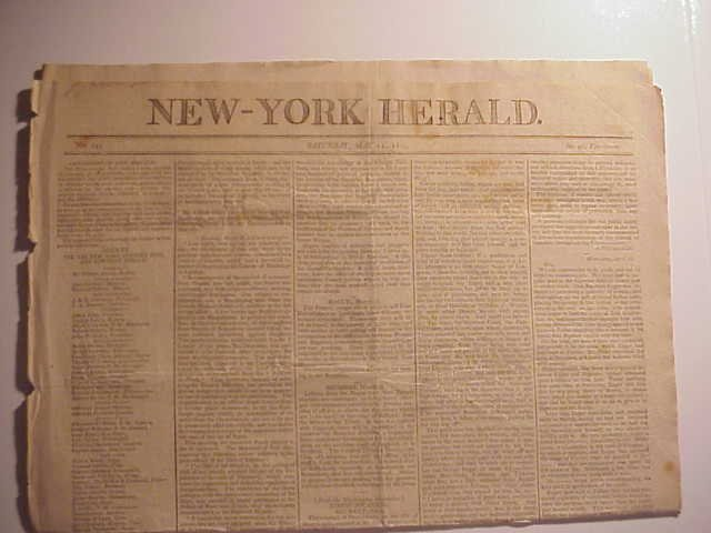 1802 New York Herald