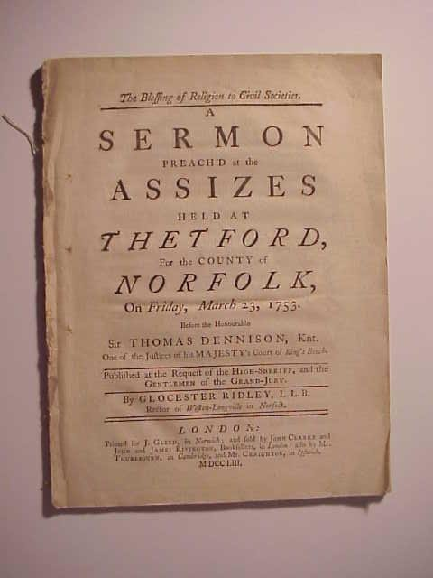 1753 English Pamphlet
