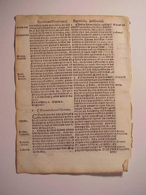 1559 English law Leaf