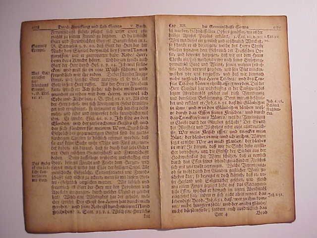 1751 BiFolium Benjamin Franklin