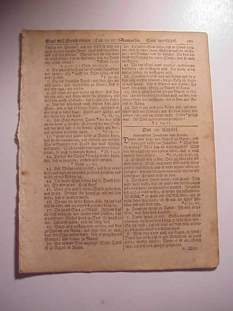1776 Revolutionary War Bible Leaf