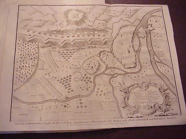 1745 Five Rapin Military Plans