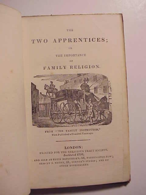 1815 The Two Apprentices Importance of Family Religion