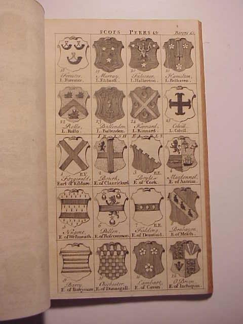 1749 Gentleman's Magazine Supplement Numerous Heraldic