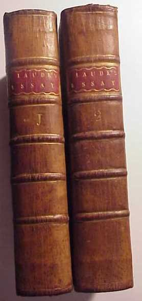 1779 Essay on the Composition of A Sermon Two-Vol