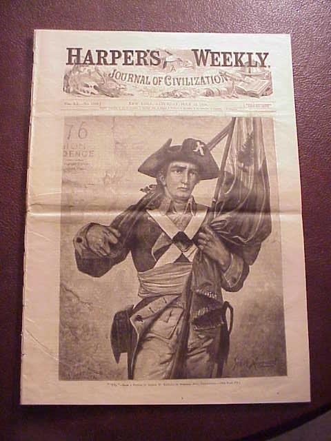 1876 HARPER'S WEEKLY Centennial Issue