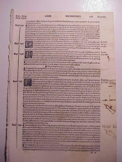 1513 Printed Leaves from Famous Chronicle