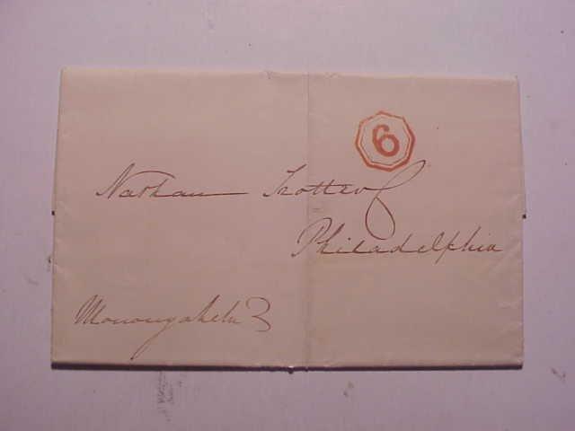 1834 Ship Letter Liverpool to Philadelphia