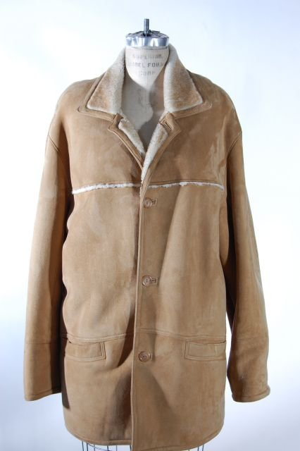 Men's Shearling Lamb Jacket. Size Medium. Retail price