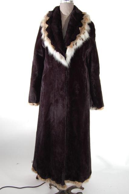 Stunning One of a Kind Look Onyx Sheared Beaver Full