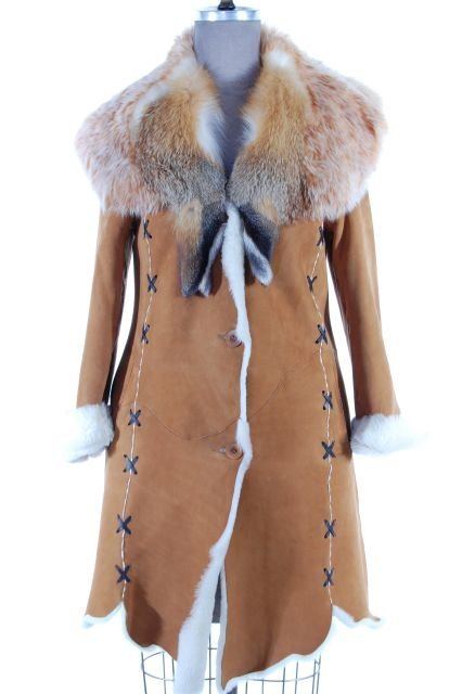 Warm Light Weight Whiskey Soft and Supple Shearling