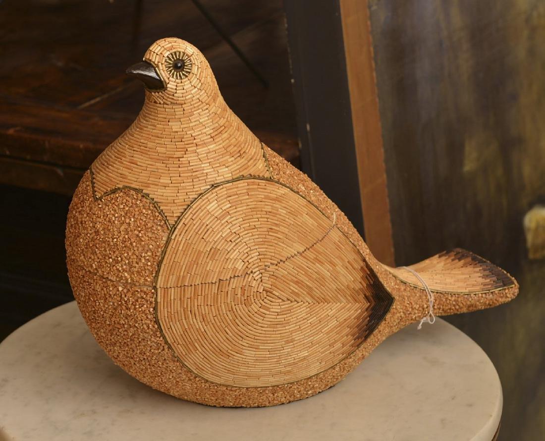 Tarzia Firenze beaded ceramic bird box