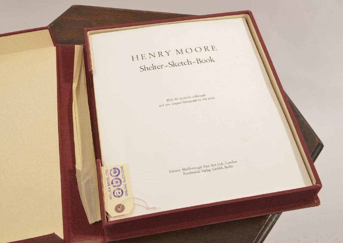 Henry Moore, Shelter Sketch Book