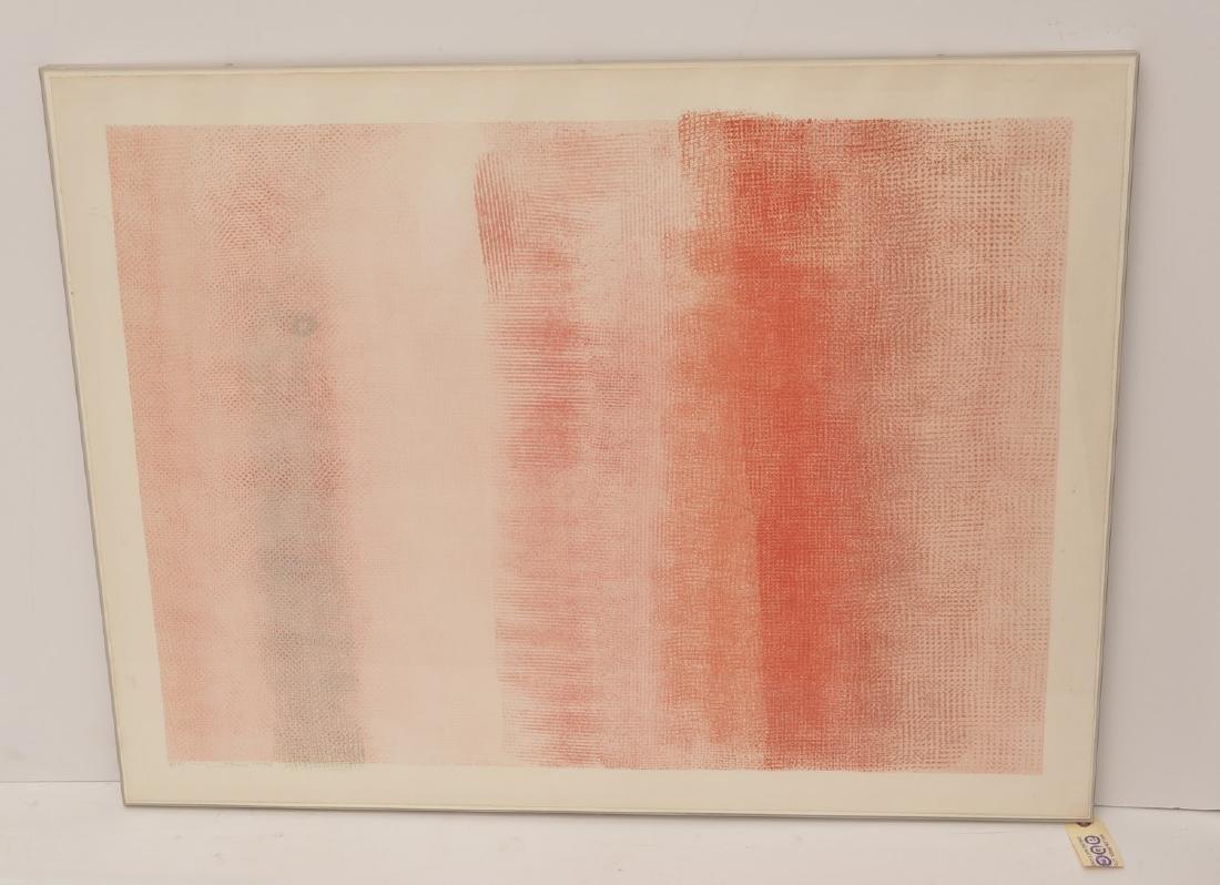 Robert Natkin, color lithograph