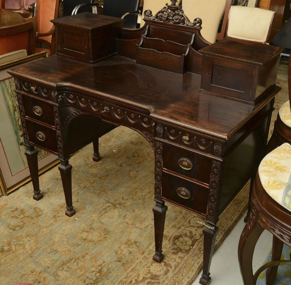 Nice quality Adam style carved desk