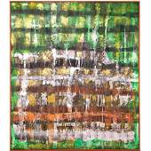 Janis Provisor, abstract painting