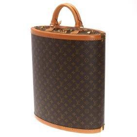 Manolo Blahnik Louis Vuitton monogram shoe trunk