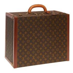 Louis Vuitton Monogram hard sided suitcase