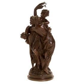Albert Ernest Carrier Belluse, bronze sculpture