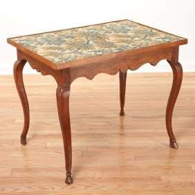 Antique French Provincial card table
