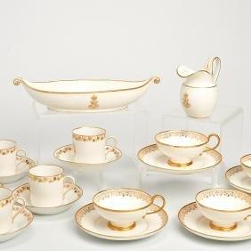 Sevres porcelain, Napoleon III tea service