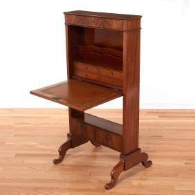 Empire mahogany ladies writing desk