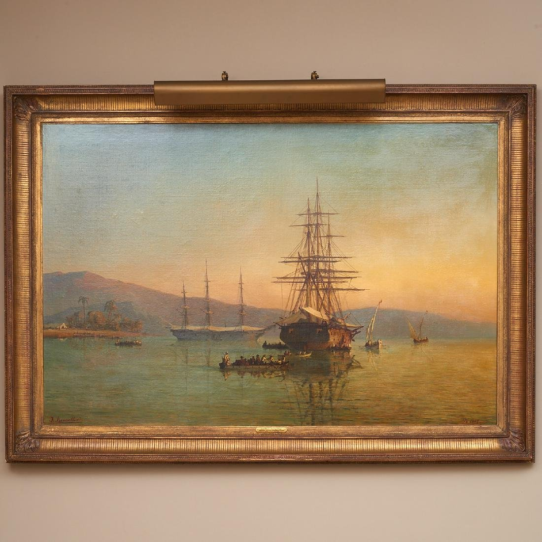Johan Jacob Bennetter, large painting