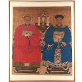 Chinese School large painting