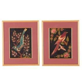 Persian School, pair paintings