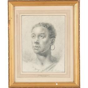 George Richmond, pencil drawing