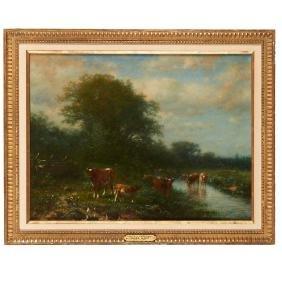 James Macdougal Hart, painting