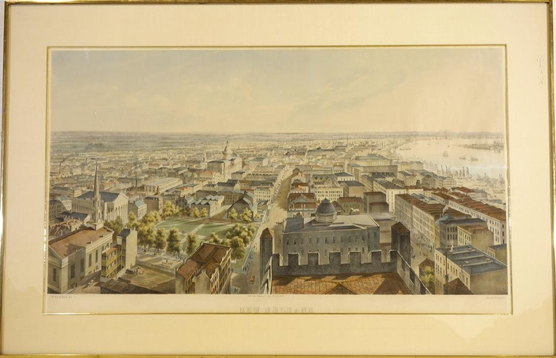B.F. Smith Jr., New Orleans color lithograph