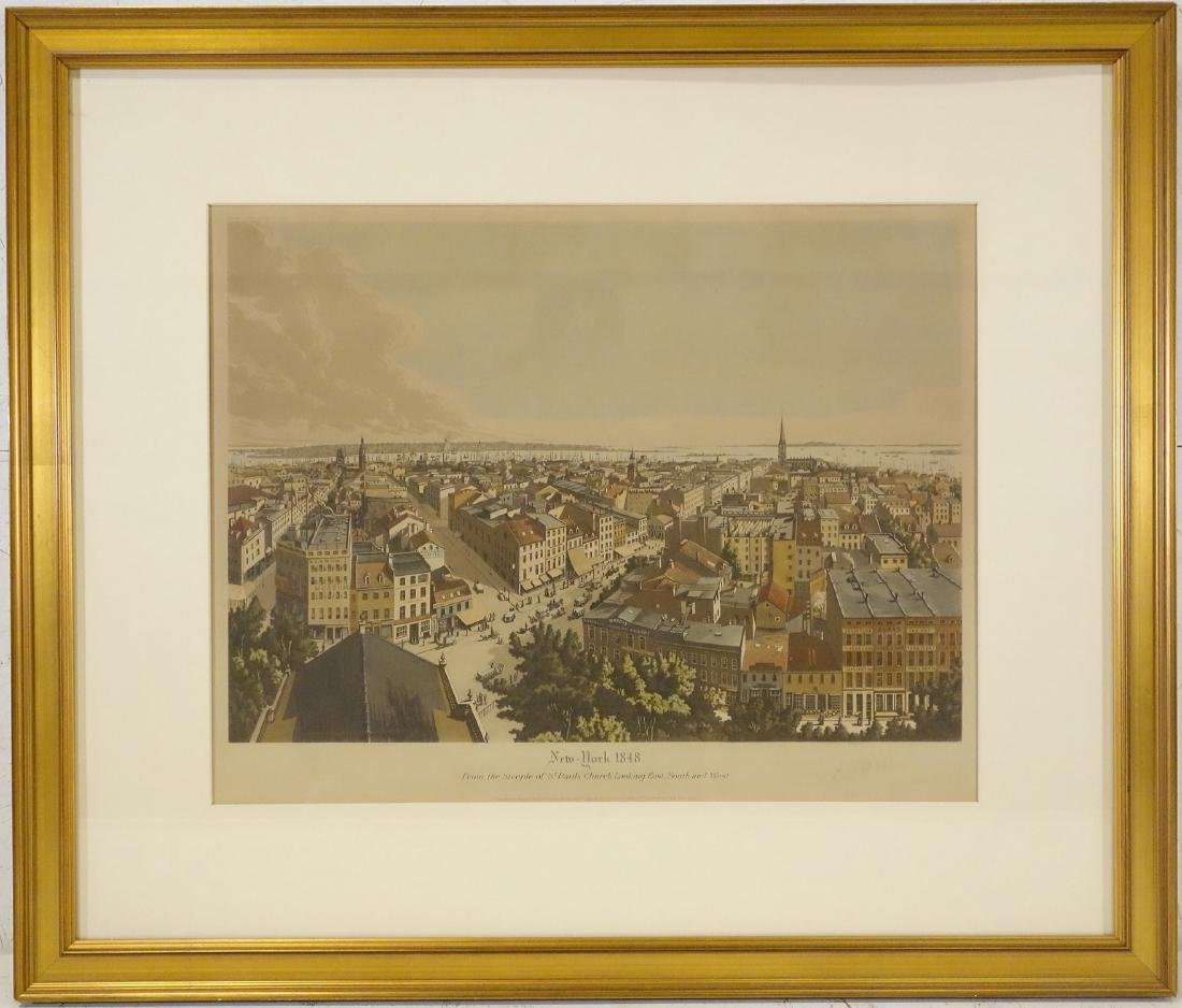 Raoul Varin, Manhattan signed engraving