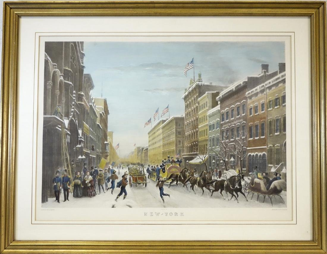 Paul Girardet, NYC color engraving