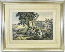 Nathaniel Currier, color lithograph
