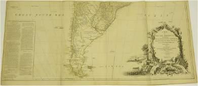 J.B.B. D'Anville, map South America