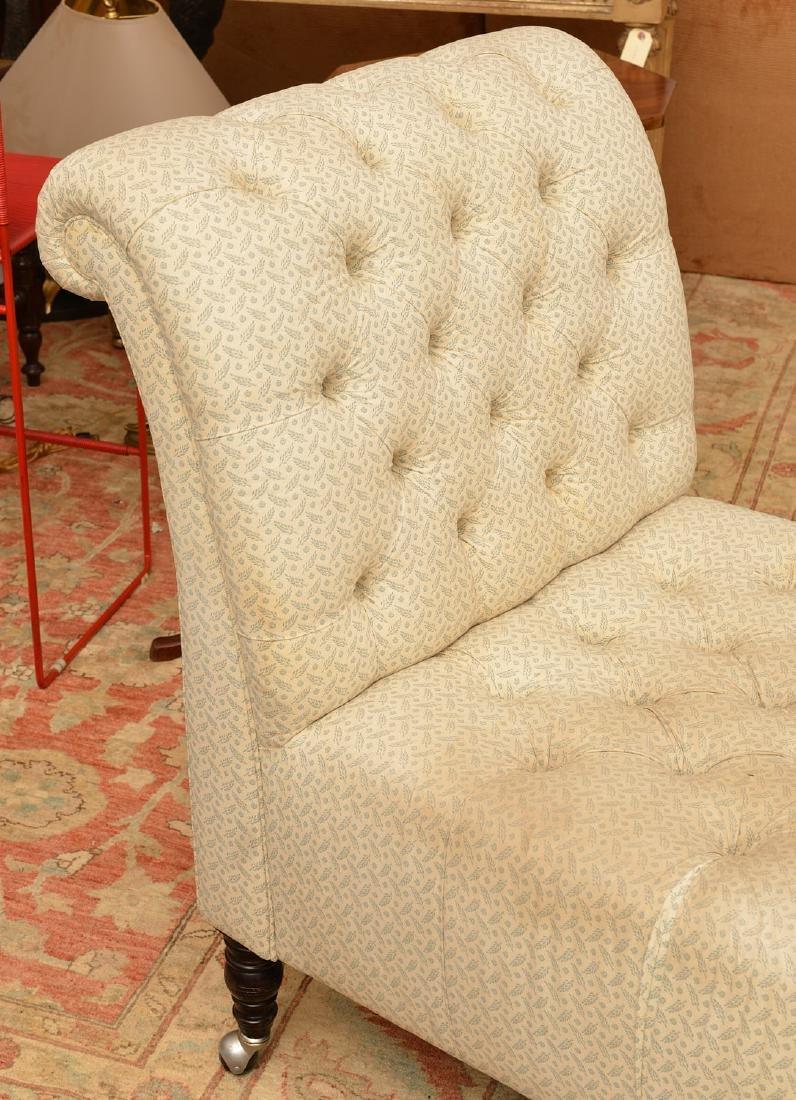 George Smith handmade chaise lounge