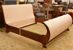 M Craig Empire style king size sleigh bed