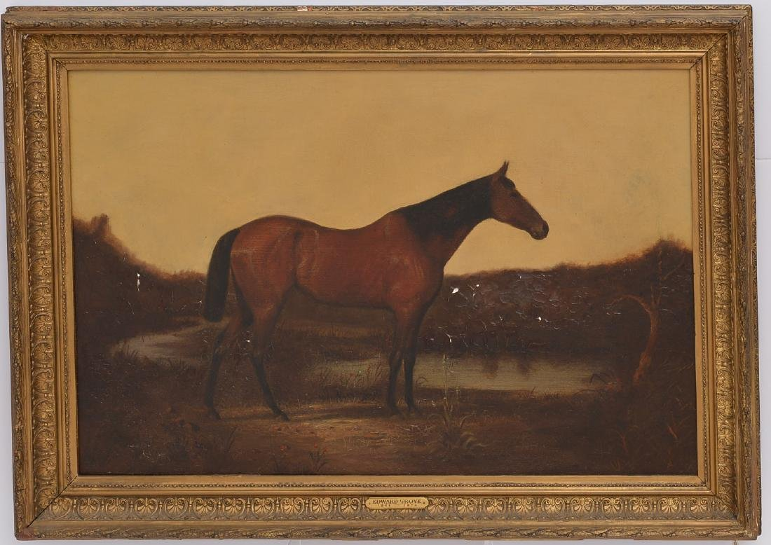 Edward Troye, pre-restoration painting