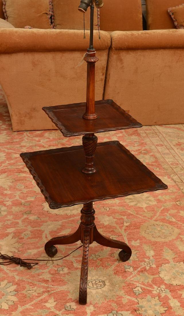 Furniture co handmade mahogany lamp table charak furniture co handmade mahogany lamp table geotapseo Gallery
