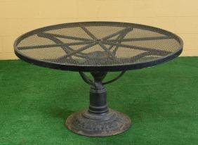 Large Round Patio/pool Dining Table