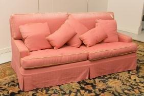 Custom Upholstered Decorator Sofa