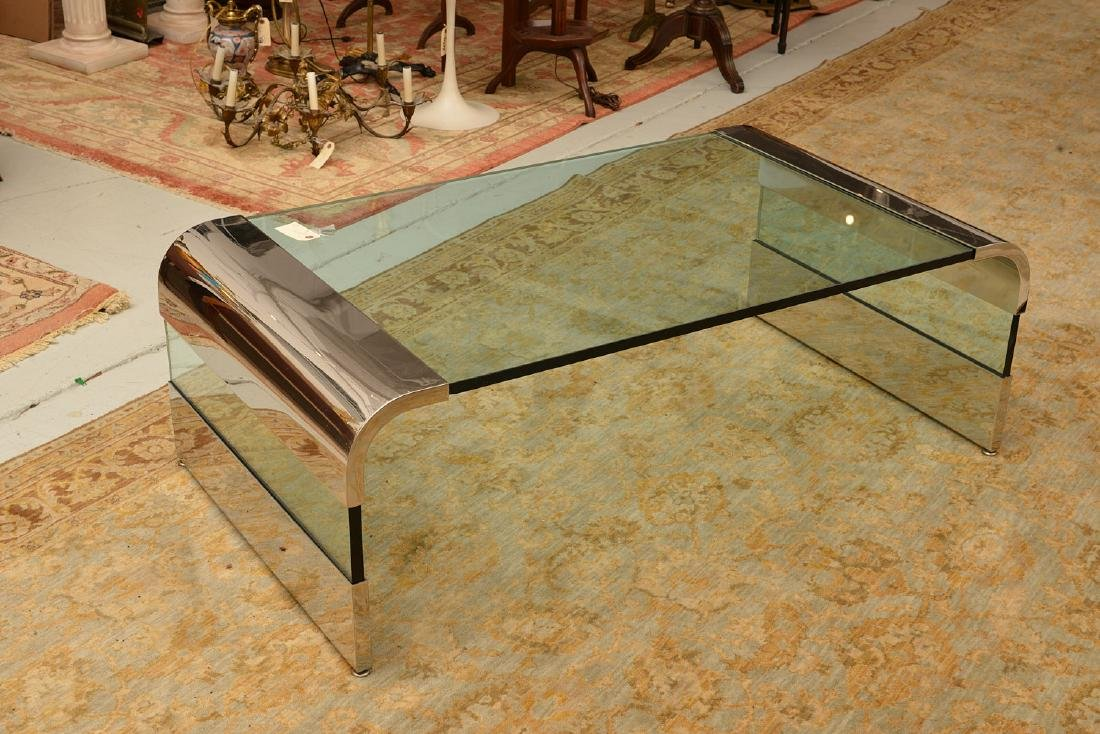 Pace Collection, Leon Rosen waterfall coffee table