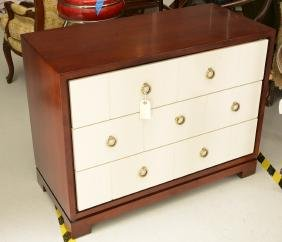 Modern Designer Lacquered Chest Of Drawers
