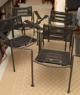 Set (4) Alias Italy, Stacking Patio Chairs
