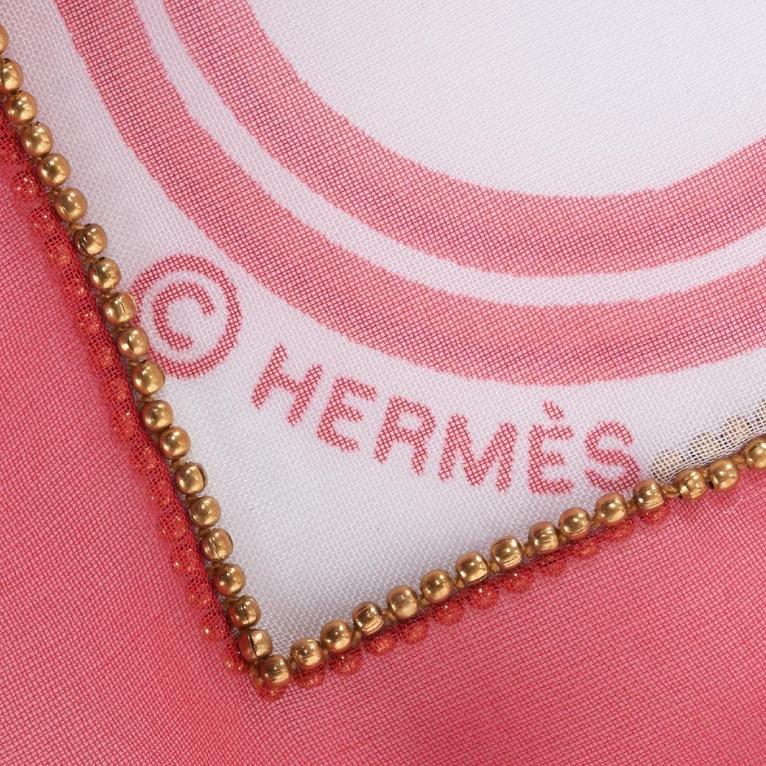 "Hermes Paris ""Brides de Gala"" beaded shawl - 7"