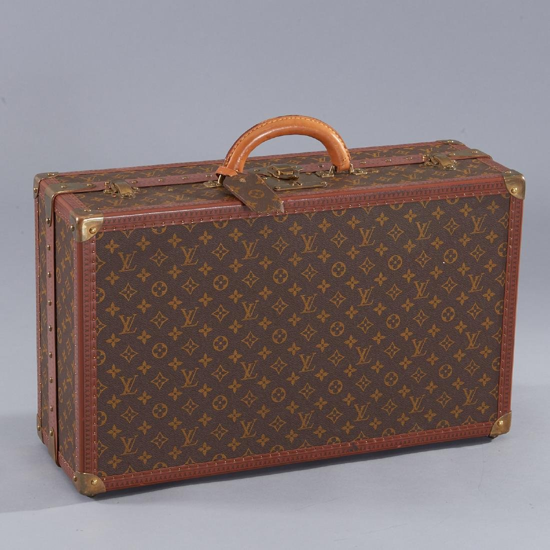 Louis Vuitton Monogram hard sided shoe trunk