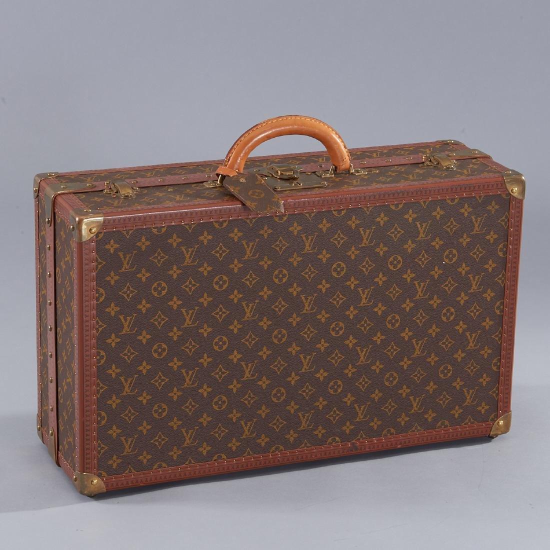 Louis Vuitton Monogram hard sided shoe trunk