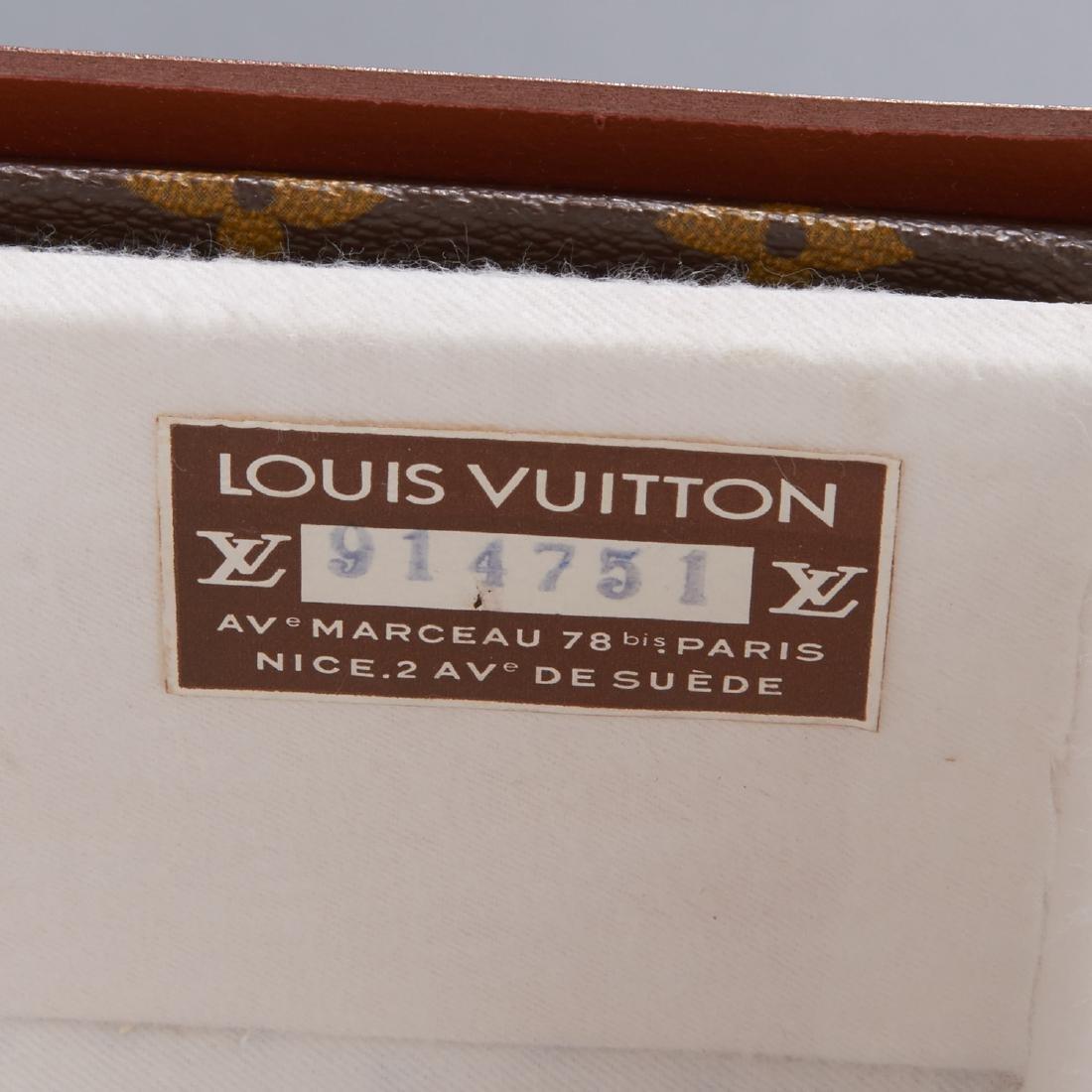 Louis Vuitton Monogram hard sided shoe trunk - 7